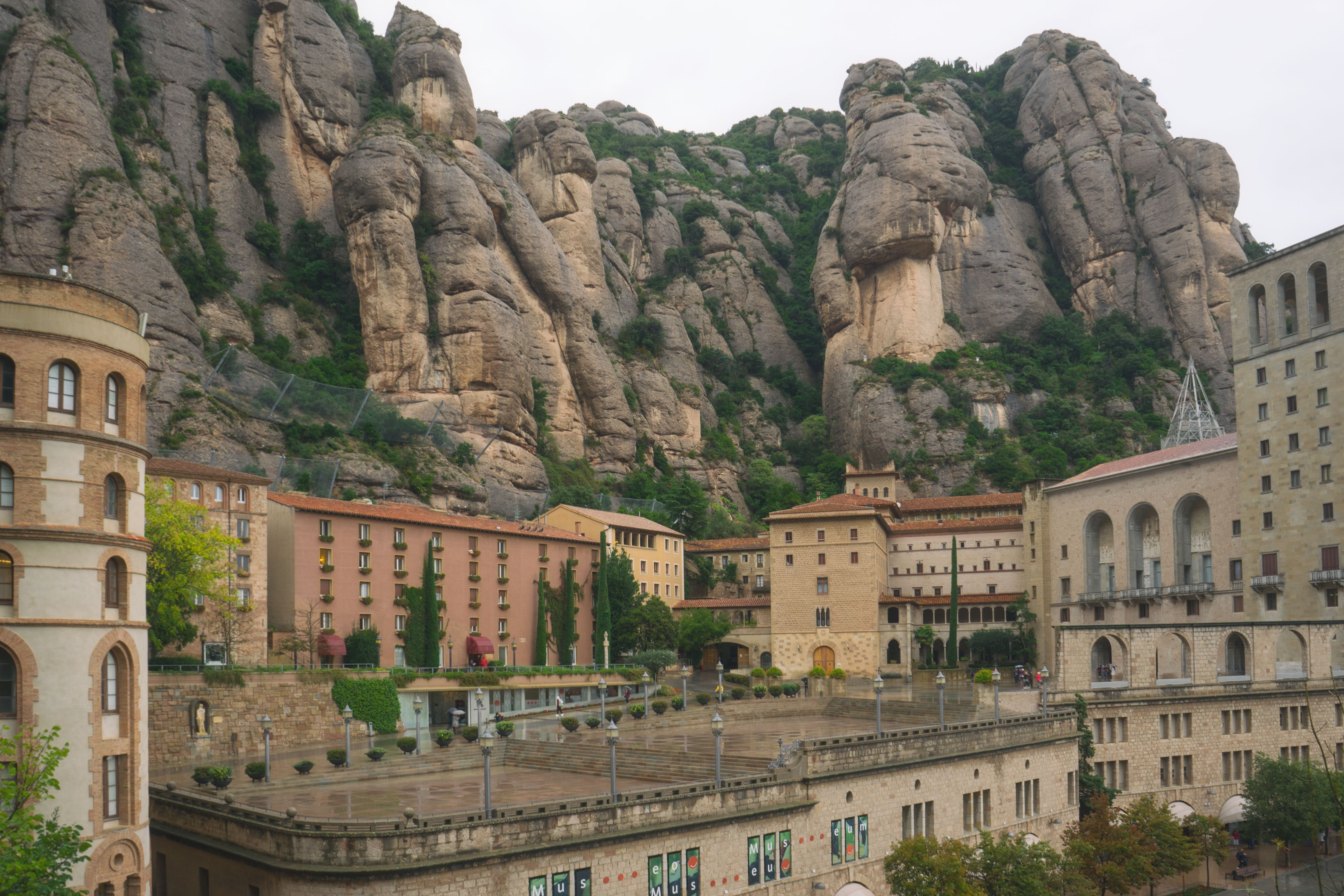Montserrat on a Foggy Day – A Photo Diary