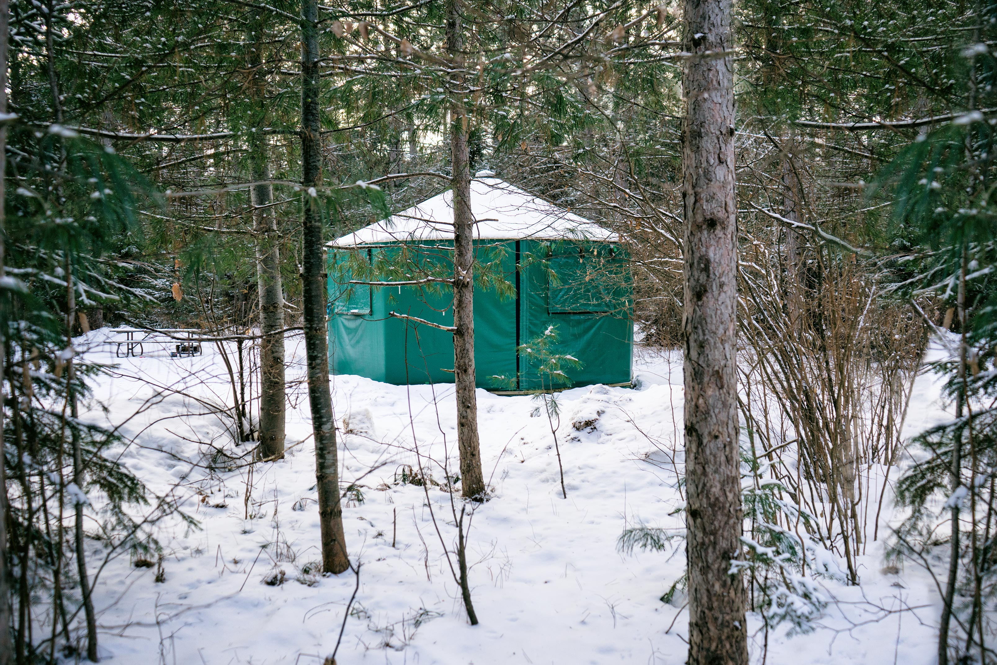 What You Should Know About Winter Yurt Camping in Algonquin Park